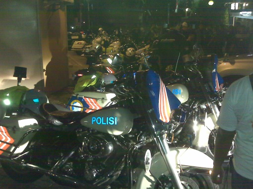 HD Electra milik Polisi BM
