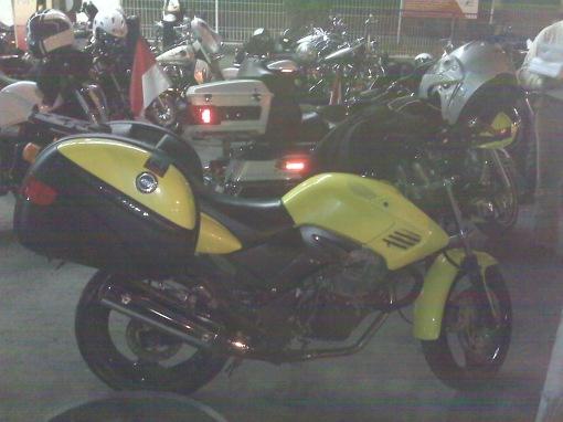 Honda Tiger dari DETIC