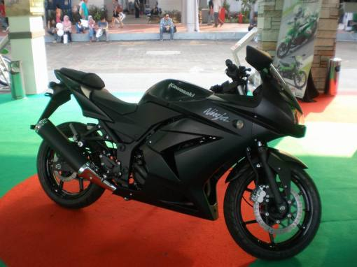 Kawasaki Ninja 250R Black Doff