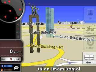 Contoh Map GPS