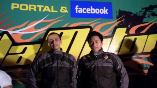 Bro Ali Shokiyi dan Rekan dari Komunitas Bajaj XCD