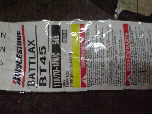 Ban Battlax BT45