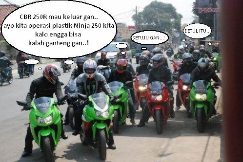 Ninja 250R Sudah Ganas…!! Selanjutnya Cukup Operasi Muka Saja