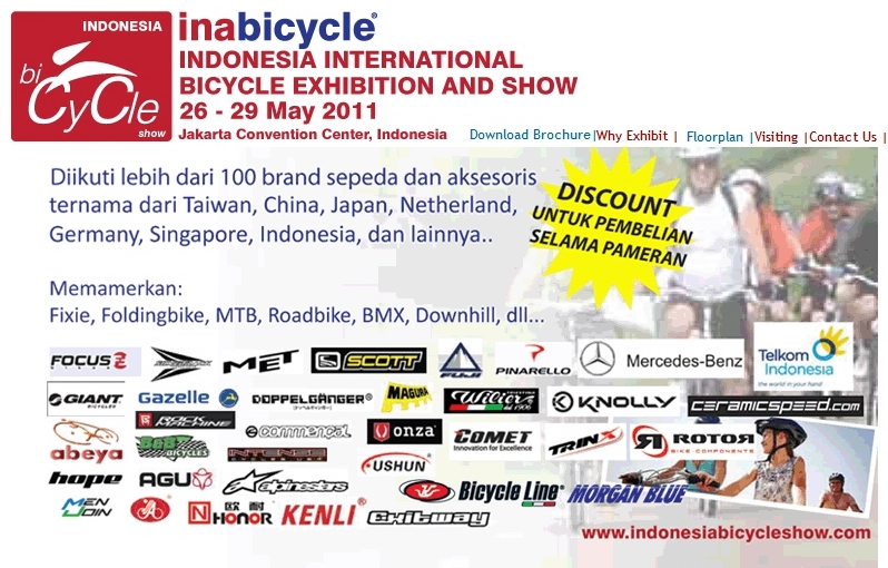 Indonesia Bicycle Show – Inabicycle 2011