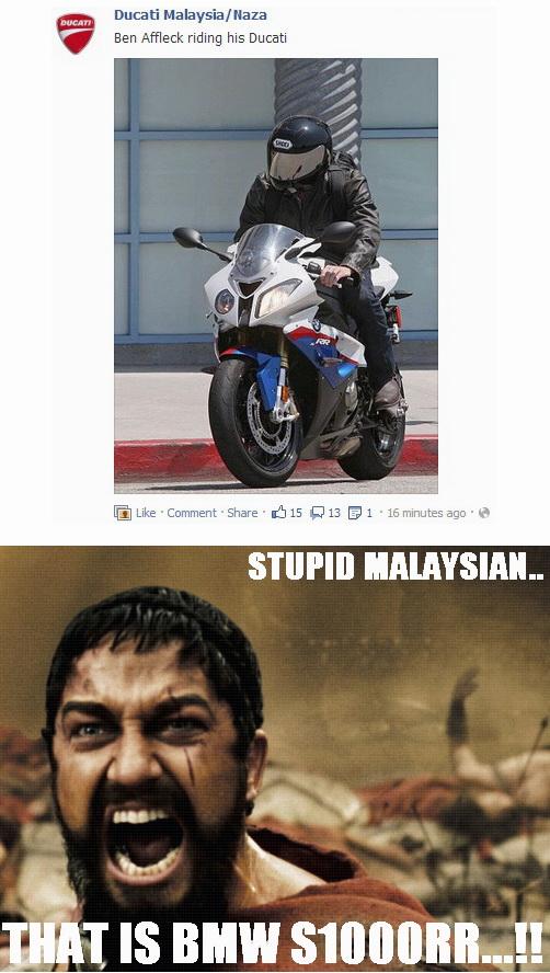 Ducati Malaysia lagi singit.. :mrgreen: